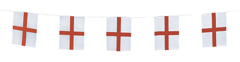 St. George''s Flag Bunting