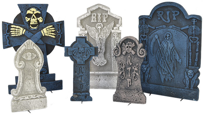 Tombstones - Set of 6