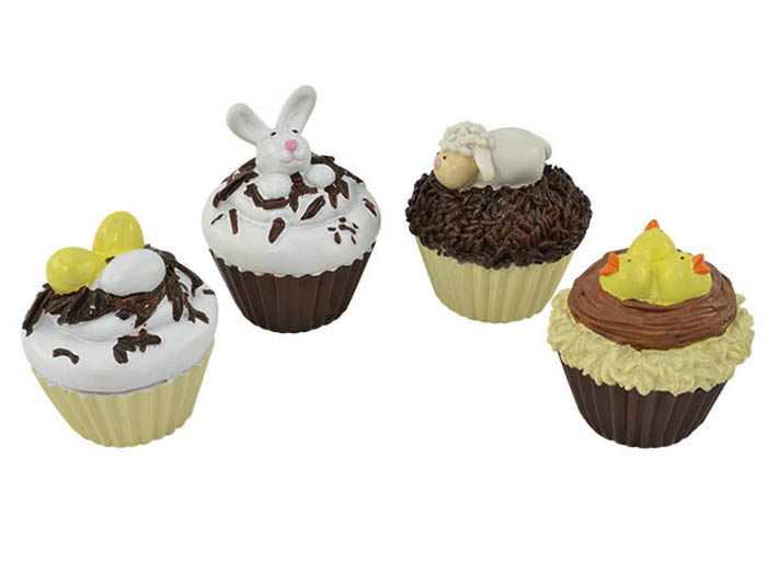Easter Cupcakes - Set of 4