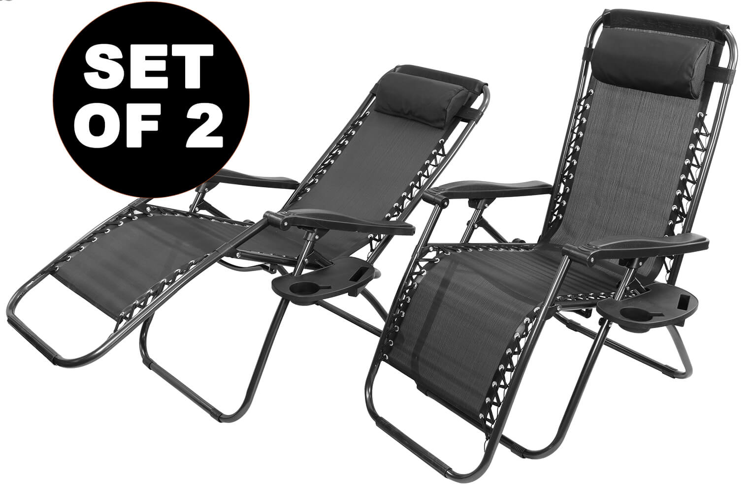 Reclining Zero Gravity Garden Chairs -%2