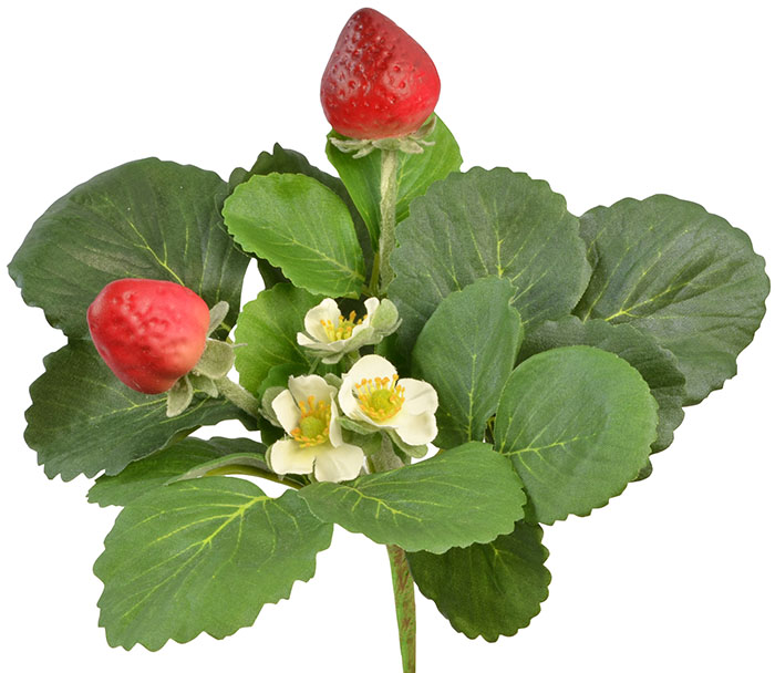 Artificial Strawberry Plant