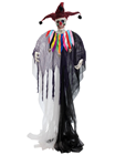 Menacing Halloween Jester Clown