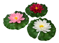 Waterlily on Leaf, Set of 3