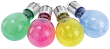 Outdoor Solar LED Coloured Bulb-Shaped L