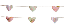 Country House Heart Garland