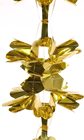 PULL-OUT BOW GARLAND - GOLD