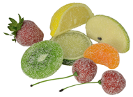 Sugared Fruit Selection - 8 Pieces
