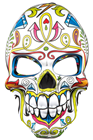 Mr Day of the Dead Mask