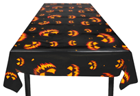 Scary Pumpkin Table Cloth