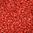 Coloured Nuggets - Red 6-8mm 1kg