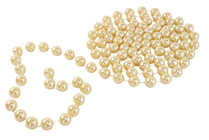 Fake Gold Pearl Bead String