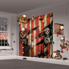 Halloween Clown Decoration Set - 32 Pi
