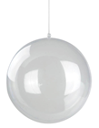 Clear Fillable Bauble - 6cm, Pk.4