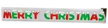 Merry Christmas Banners - Roll of 36