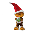 Candy Sprinkles Gingerbread Person with