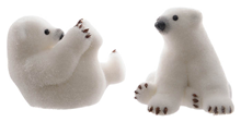 Small Polar Bears - Set of 2