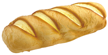 Artificial Bloomer Bread Loaf