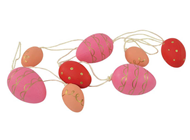Decorative Easter eggs - Pink-Peach, P