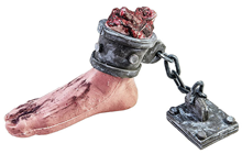 Foot with Shackles