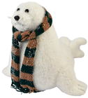 Seal With Scarf - 38cm