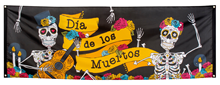 Large Day of the Dead Banner