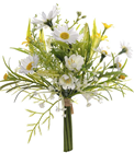 Posy of Mixed Flowers - Yellow