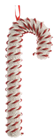 White & Red Swirl Candy Cane