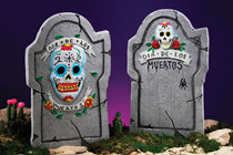 Day of the Dead Tombstones - Set 0f%