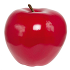 Giant High Gloss Red Apple