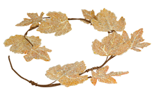 Frozen Autumn Leaf Garland