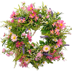 Flower Wreath - Pink