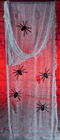Gauze Cloth with Spiders
