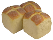PACK OF 3 HOT CROSS BUNS - 6 X 6