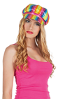 Rainbow Sequin Cap