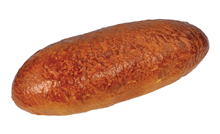 Plastic Oval Loaf of Wheat Bread - 3