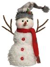 Snowman with Grey Hat
