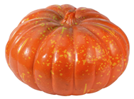 Orange-Yellow Pumpkin - 30cm