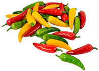 Mixed Chilli Peppers - Pk.30