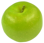Lifelike Green Apple