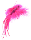 Decorative Feather Bird - Pink