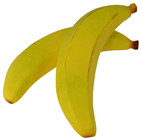 Giant Fake Banana - 32cm Pk.2