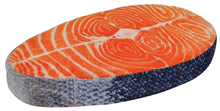 Large Plush Foam Salmon Slice