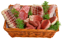 British Meat Selection Basket - Raw