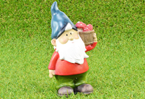 Garden Gnome with Pail