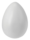 Giant Plastic Egg - White 30 x 20cm