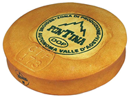PLASTIC WHOLE FONTINA CHEESE - 36 X