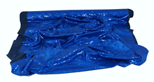 Glamour Sequin Fabric - Blue