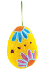 Double Sided Egg Hanger - Yellow