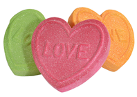 Giant Fake Love Hearts - Pk.3