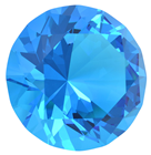 60mm Aquamarine Diamond Cut K9 Crystal%2
